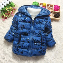 Wholesale Childrens Down Jackets - Wholesale-2015 Childrens' jacket down clothes winter clothes for girls 3 colour winter coat free shipping free shipping YRF011