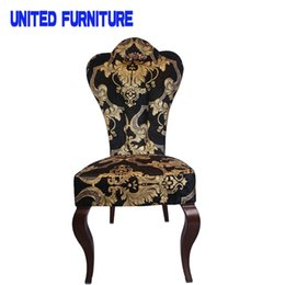 Wholesale Restaurant Furniture Chairs - 5 colors available restaurant chair hotel dining hall stool restaurant furniture send from China