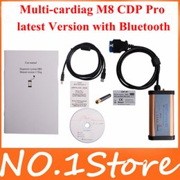 Wholesale Multi Cardiag M8 - Wholesale-2013 Newest Diagnostic Tool professional Multi-cardiag M8 CDP Pro 3 in 1 for Car and Trucks latest Version with Bluetooth