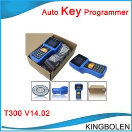 Wholesale Fast Programmers - Fast Free Shipping Multi-language T300 car key programmer 2017 Latest Version V16.6 T300 car transponder key for multi-brands