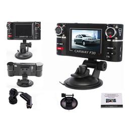 Wholesale g arms - 2017 New Car Dvr S5Q HD Car DVR Camera Vehicle DVR Dual Lens Dash Cam Video Recorder Night Vision SOS Car Vehicle 1080P HD Dash Cameras
