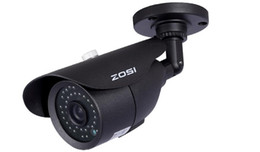 Wholesale Full Body Camera - ZOSI HDMI 4CH Realtime FULL 960H DVR KIT 4x HD 800TVL Night Vision 120ft CMOS CCTV CAMERA security system surveillance recorder CCTV SYSTEM