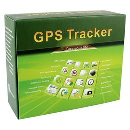 Wholesale Gps Tracker Geo Fencing - TK800 Car GPS Tracker GSM GPRS GPS Track TK800 Mini Track Device Waterproof Geo-fence SOS Over Speed Alarm With strong Magnetic