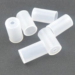 Wholesale Ce4 Ce5 Ce6 Mouthpiece - EGO Atomizer Cap Silicon Cover Drip Tip Cap Dustproof Soft Mouthpiece Cap for CE4 CE5 CE6 T2 T3 MT3 VIVI NOVA Clearomizer