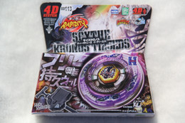 Wholesale Metal Bb - New Arrive!! BEYBLADE BB-113 4D Scythe Kronos T125EDS+Launcher METAL FURY FUSION