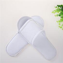 Wholesale Soft Sole Slippers - Fashion Soft Bath Slippers Universal Flat Bottom EVA Sole Disposable Baboosh Super Flexible Fabric Babouche Factory Direct Sale 1ty B