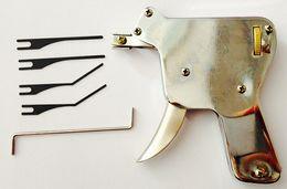 Wholesale Door Keys Locks - New Stock Free Shipping Strong Lock Pick Gun Locksmith Tool Lock Pick Set Professional Lock Picks Pick Tools Door Key Opener