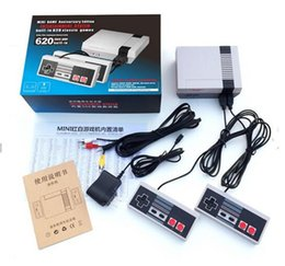 Wholesale Classic Free Tv - Mini TV Video Handheld Game Console Entertainment System Built-in 500 600 Update 620 Classic Games for NES Games PAL&NTSC DHL Free