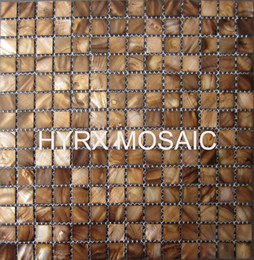 Wholesale Tanning Tablets - New style mother of pearl shell mosaic tiles,Dye Browns color,Decorative shell mosaic tiles, kitchen tiles, bathroom mosaic tile