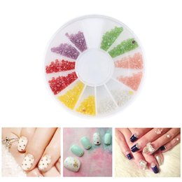 Cheap nail art discs free shipping nail art discs under 100 6 color portable twinkle mini powdery hemisphere particle circular disc container lady makeup nail art decorations prinsesfo Images