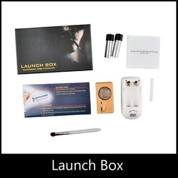 Wholesale Magic Flight Launch - Newest Magic Flight Launch Box Kits Vaporizer Dry Herb Vapor Gift Box Package Wooden Storage Container E Cigarette Starter Kit by DHL free