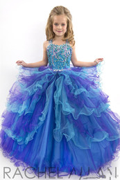 Wholesale Tulle Ballgown Flower Girl - kids dress and flower girls dresses Perfect Angel sweetheart cut ballgown with sparkly soft tulle girls pageant Gowns