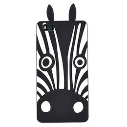 Wholesale Cover Mobile Zebra - Mobile Phone Accessories Parts Mobile Phone Bags Cases Huawei P8 Lite Case 3D Cartoon Cute Dogs Zebra Silicon Soft Back Cover Phone