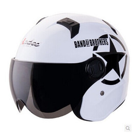 """Wholesale Helm Scooter - Wholesale-"""" ANDES-B622- Q """" Portable-type ABS Open Face Casco Scooter Helm Motorcycle Bright Pink """" Motor Monkey """""""