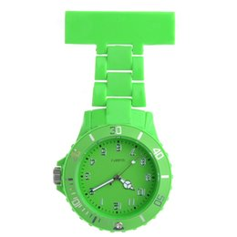 Wholesale Nurse Doctor Styles Watches - Wholesale New Fashion Quartz Watches Nurse Doctor Style Plastic Watches Wrist Watches 3 Corlor 10pcs