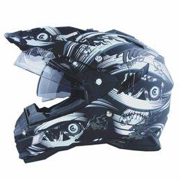 Wholesale Casco Road Helmets - Wholesale-New arrival THH casco capacete motorcyrle helmet off-road motocross multi-function helmet with dual lens motoqueiro helmets DOT