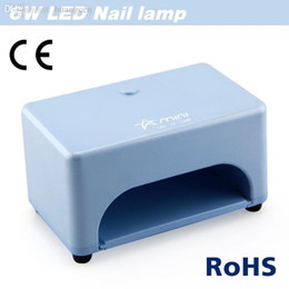 Wholesale Light Cure Price - Wholesale-NEW Design 6W 100-240v professional led nail UV Lamp Gel Curing light nail glue dryer (EU AU US UK Plug) good price