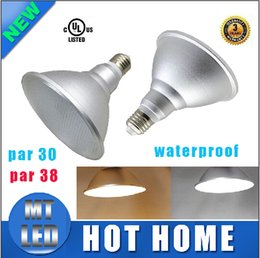Wholesale Waterproof Led Par38 - Ultra Bright UL IP65 Waterproof PAR20 PAR30 PAR38 E26 E27 LED 110V-240V 7W 12W 15W dimmable LED Ceiling Lamp Spot Lights Bulb