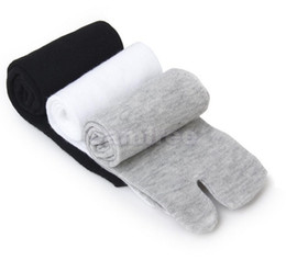 Argentina Al por mayor-footful de las mujeres de los hombres japonés Kimono Flip Flop Sandal Split Toe Tabi Socks cheap wholesale women s kimono Suministro