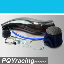 Wholesale Carbon Air Intake Honda - J2 RACING STORE- 100% CARBON FIBER AIR INTAKE PIPE FOR HONDA CIVIC 92-00 EK EG WITH AIR FILTER INTAKE PIPE