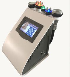 Wholesale Multipolar Rf - 5 year warranty 5 in 1 Ultrasonic Liposuction 40K Cavitation Vacuum Multipolar Tripolar RF Laser Slimming Skin Body Salon Machine