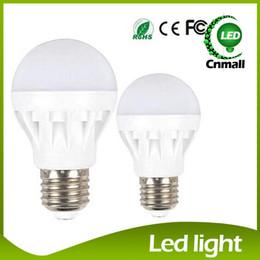 Wholesale Base Energy - LED Bulb Globe Bulb Light LED Light 3W 5W 7W 9W 12W LED Bulbs Energy-Saving Light E27 Base Globe Light Bulb Lightings Lamp