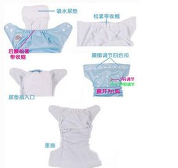 Wholesale wholesale price diaper - 2014 Factory price FREE dhl 3 layer microfiber baby cloth nappy diaper liners insert soaker washable reuseable SIZE,34*13cm 500 LOT H399