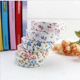 Wholesale Lovely Fabric Tape - wholesale,New lovely flowers fabric tape   high quality, Free Shipping
