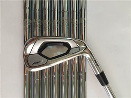 Wholesale Hand Clubs - AP3 718 Iron Set AP3 718 Golf Forged Irons High Quality New Golf Clubs 3-9Pw Steel Shaft With Head Cover