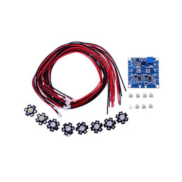 Wholesale Extension Boards - RC 8 LED Flashing Light Night Light w LED Board and LED Extension Wire for Multirotor Octocopter Night Fly order<$18no track
