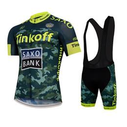 Wholesale Saxo Bank Sets - 2015 TINKOFF SAXO BANK PRO TEAM SHORT SLEEVE CYCLING JERSEY SUMMER CYCLING WEAR ROPA CICLISMO+ BIB SHORTS 3D GEL PAD SET SIZE:XS-4XL