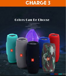 Wholesale Multimedia Bluetooth Wireless Speaker - CHARGE3 Speaker Waterproof Mobile Multimedia Wireless Bluetooth Speaker Portable Speakers Outdoor Super Bass CHARGE 3 with MP3 FM Radio
