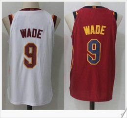 Wholesale Wade Vintage - 2017 Style new #9 Dwyane Wade College Rev Stitched Embroidery Vintage Sports basketball Uniforms Shirts Numbered Vest discount Mens Jerseys