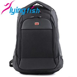Wholesale Business Travel Backpack - Wholesale-2015 hot!SwissGear Pegasus quality goods travel bag and business backpack - nylon black hiking backpack - practical backpack
