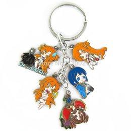 Wholesale Asuna Sword Metal - Cartoon movie tv Sword Art Online Asuna metal figures keychain cosplay key chain