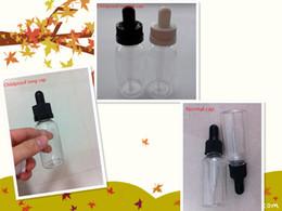 Wholesale E Liquid Smoke - wholesale-30ml PET newest E-liquid plastic bottle with glass dropper glass sharp pipette and soft nipple good for smoke oil