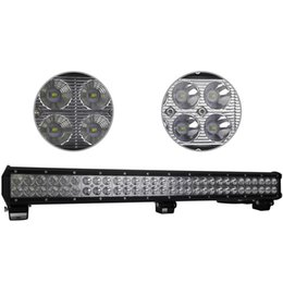 Wholesale 28 Led Light Bar - 28 Inch 180W Cree LED Work Light Bar for Indicators Motorcycle Driving Offroad Boat Car Tractor Truck 4x4 SUV ATV Flood 12V