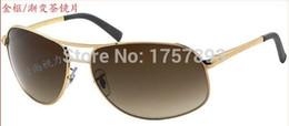 Wholesale Explosion Proof Sunglasses - 3387 toughened explosion-proof shatterproof glass sunglasses for men and women fashion sunglass