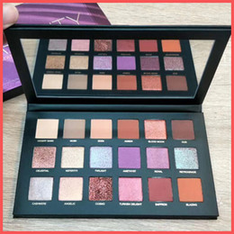 Wholesale Pro Colors - Free Shipping by ePacket Top quality beauty DESERT DUSK Eyeshadow 18 colors Palette Shimmer Matte Eye shadow Pro Eyes Makeup + Gifts