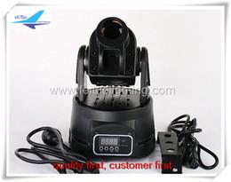 Wholesale Moving Head Spot Led 15w - Wholesale-Free shipping (4 lot) 15w mini led moving head spot