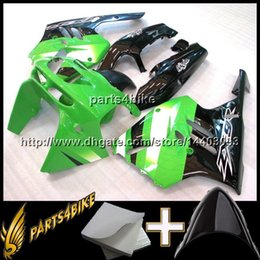 Wholesale 95 Zx9r Fairings - 23colors+8Gifts GREEN BLACK motorcycle cowl For Kawasaki ZX9R 1994-1997 ZX 9 R 94 95 96 97 98 ABS Plastic Fairing