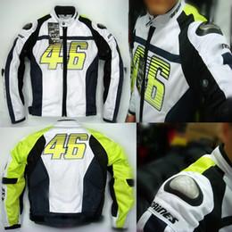 Argentina 2015 nuevo verano VR46 Rossi D1 motocicleta ropa moto trajes de carreras motos chaquetas de titanio y malla S M L XL XXL XXXL Suministro