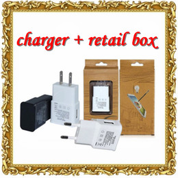 Wholesale Iphone Kit Wall Car - US EU version plug wall charger + restail set N7100 wall charger data usb sync cable car charger full sets kits for galaxy with retail bo