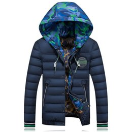 Wholesale Cheap Hooded Parka Coats - Cheap Wholesale Parka Men 2017 New Autumn Winter Hooded White Duck Down Feather Wadded Coat Men Bomber Quilted Jackets Clothing