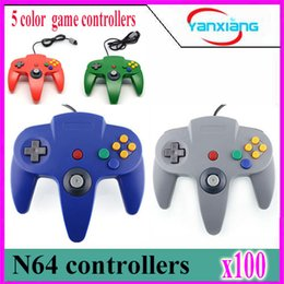 Wholesale Interface Games - 100pcs 2016 the latest N64 original interface cable game controllers YX-N64-01