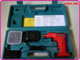 Wholesale Electronic Lock Pick Gun - 2015 Electronic Bump Pick for Kaba Lock, with 42 Kinds of bumping pick heads, Locksmith tools with Lithium Battery