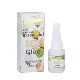 Wholesale Long Eyelashes Glue - Professional Eyelash Extension Glue slow Dry Low Odor Low Stimulus Long Lasting Eyelashes Glue Adhesive For Novice practice