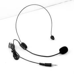 Wholesale Xlr 4pin - black Colour Mini XLR 4 Pin TA4F 4PIN Plug Connector Headworn Earhook Headset Microphone For Wireless BodyPack Transmitter