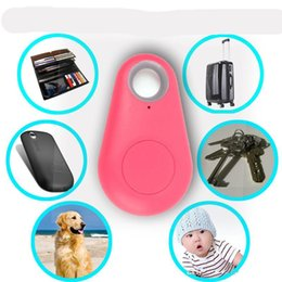 cell phone theft alarm Promo Codes - Smart Bluetooth Anti-Lost Alarm Tracer Anti-theft device GPS Tracker Children phone Locator anti-lost Remote control Free