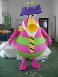 Wholesale Mascot Costumes Usa - Hot Fashion Professor Dr Paunch Mascot FREE SHIPPING USA Halloween GRU DISPICABLE ME